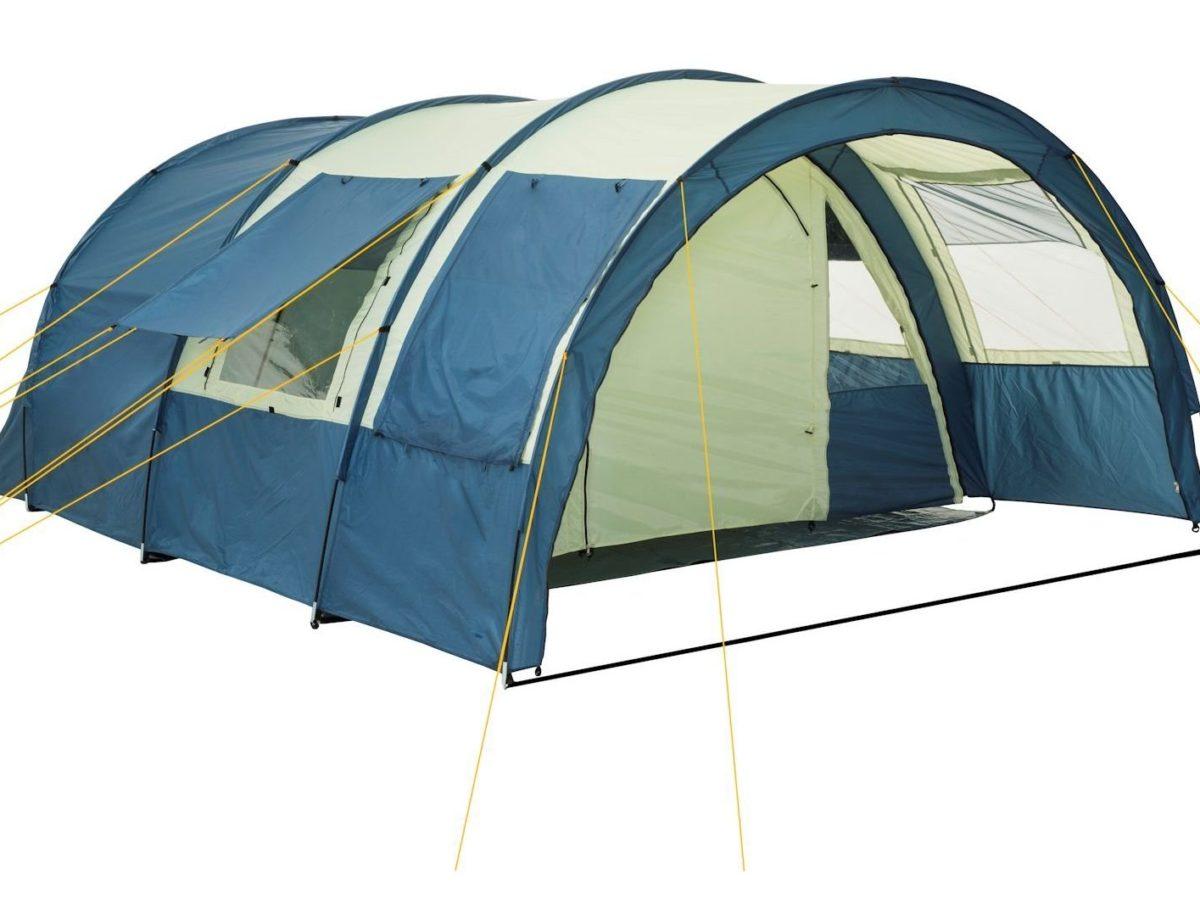 OUTXE Camping Ventilator mit Nachtlicht Zelte Ventilator USB Ventilator mit 4...