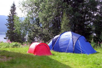 Welche Zelt Formen gibt es?