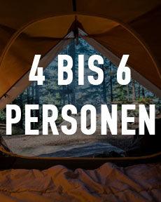 4 bis 6 Personen Zelte