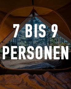 7 bis 9 Personen Zelte